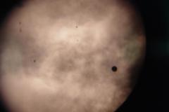 Venus Transit 2012, clouds
