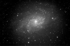 M33, Triangulum Galaxy, Sep, 2009