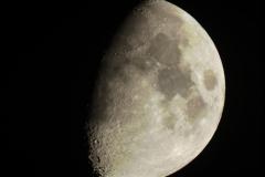 1st quarter Moon, Oct, 2010