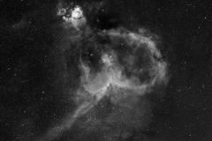 IC1805, Heart Nebula, Sep, 2010